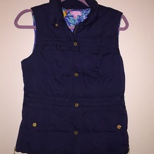 Lilly Pulitzer puffer vest like new